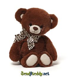 We just received this little darling Bleecker from GUND. Find her here: http://www.sendateddy.net/gund-teddy-bears.php#!/Bleecker/p/43161808/category=10946161 #teddybears #sendateddy