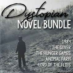 This money-saving bundle includes five of my unit plans for dystopian novels. Included are my units for 1984 by George Orwell, The Giver by Lois Lowry, The Hunger Games by Suzanne Collins, Animal Farm by George Orwell and Lord of the Flies by William Golding. Buying this bundle will save you time and money. There are over 500 pages of materials included in this bundle. Buying this bundle will save you almost 50% off the price of all five units combined.