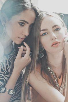 Victoria Bristot & Gabi Nemitz. Photographer: Fagner Damasceno. Beauty Artist : Lila Viana.