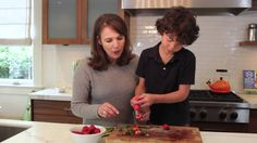 #cookingvideo Two ingredient strawberry jam via Jessica Alba's Honest Co #52NewFoods #DIY #cookingwithkids