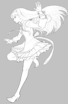 Madoka Magica Sayaka Manga Girl Anime Girls Art