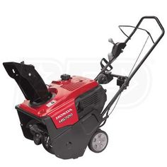 """Buy Honda HS720ASA Today. Free Shipping. Tax-Free. Check the Honda (20"""") 187cc 4-Cycle Single Stage Snow Blower w/ Electric Start & Dual Chute Control ratings before checking out."""