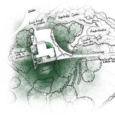 Country House Cambridgeshire by Thomas Hoblyn Suffolk Garden Design