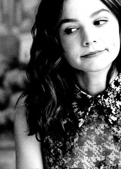 Carey Mulligan. If only I could pull this off