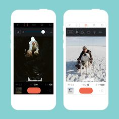 Turn your smartphone into an SLR with this app.