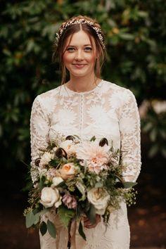 Romantic bridal style | Image by Jordan Voth