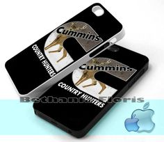 Cummins Country Hunters - Print on hardplastic for iPhone 4/4s and 5 case, Samsung Galaxy S3/S4 case.