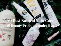 Proudly presenting Part 1 of this three-part series '30 Best Natural Skin Care & Beauty Products Under $30', all to bust the myth that natural skin care is pricey!