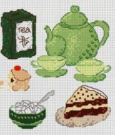 cross stitch #tea