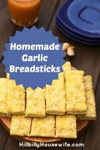 Garlic Breadsticks
