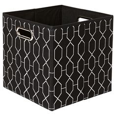 Awesome Abstract Fabric Storage Cube Size A