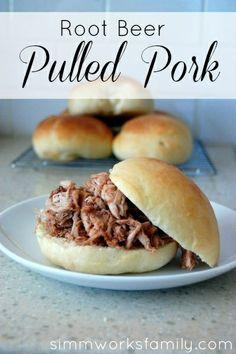 Root Beer Pulled Pork #slowcooker #recipe