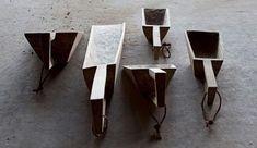 Grain Scoops | Joshua Vogel Turnings Sculpture Furniture