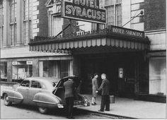 Hotel Syracuse 1940's