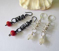 spiral madness #earrings #handmade