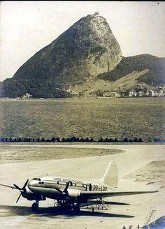 EU FUI para o Rio de Janeiro voando em um DC-3 da Varig MUITOS anos atras...