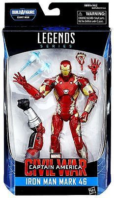 Captain America Civil War Marvel Legends Wave 2 Iron Man Mark 46 Action Figure