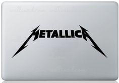 Metallica Logo Laptop Sticker