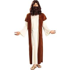 Biblical Times Jesus Holy Man Costume Adult