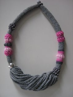 Crochet jewelry  Inca by Suzann61 on Etsy, $40.00