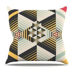 Kess InHouse Danny Ivan La Plus Indoor/Outdoor Throw Pillow - DI1057AOP02