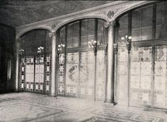 Image detail for -Louis Comfort Tiffany's Work on the White House during Chester Arthur ...