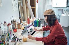 Crea arte multi-media para Microsoft y Currys PC World