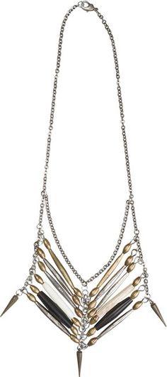 bitt by britt chest plate necklace? Native American neckles. $189.00
