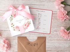 Zaproszenia ślubne - dodatkowa wkladka 2 Place Cards, Place Card Holders, Tableware, Dinnerware, Dishes, Place Settings, Serveware