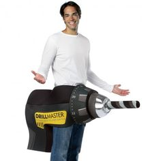 power drill funny costume httpwwwcostumecollectioncomau - Naughty Costumes For Halloween