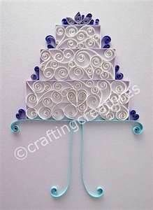 Quilling Wedding Cake