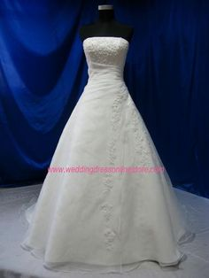 Wedding dress online store - Bridal Gown BG938, $389