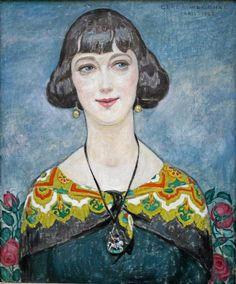 Gerda Wegener, Paris 1925 Elna Tegner
