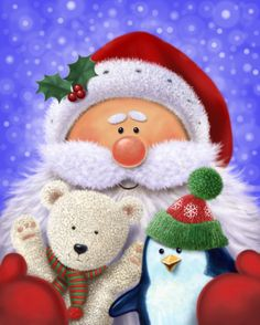 Scott Wilson - SANTA - POLAR BEAR - PENGUIN - CHRISTMAS.jpg