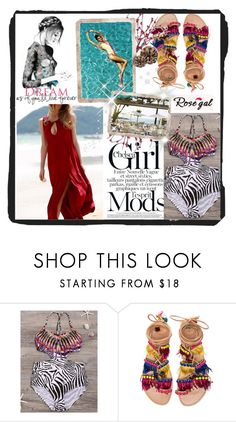 """""""Rosegal #17"""" by sabina-94-cxx ❤ liked on Polyvore featuring Elina Linardaki and rosegal"""