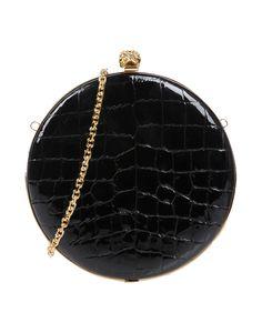 ALEXANDER MCQUEEN . #alexandermcqueen #bags #leather #clutch #metallic #shoulder bags #lining #hand bags #