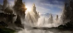 Skyrim Fantasy Ruins by AlexRuizArt.deviantart.com on @deviantART