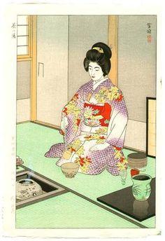 Kasamatsu Shiro: Tea Ceremony - Artelino