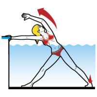 Yoga Water Workout Check out these water yoga exercises to get fit in the swimming pool. Just have to figure out the least busy time at my pool! Water Aerobics Workout, Pool Workout, Water Workouts, Baby Workout, Swimming Pool Exercises, Womens Health Magazine, Gym Time, Yin Yoga, Sport