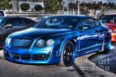 West Coast Bently CGT Photograph  - West Coast Bently CGT Fine Art Print