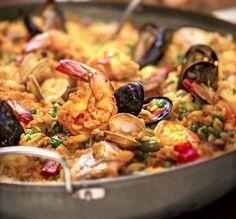 Disney Cruise Line Summer Recipe: Seafood Paella