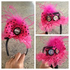 monster high birthday decorations | Monster High Birthday Top Hat | Birthday Party Ideas
