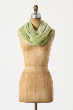 Anthropologie Ombre Polka Scarf