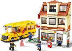 Sluban 38-B0333 Автобус: Школьная жизнь