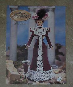 Annie's Attic Potter Miss October Bridal Trousseau Doll Crochet Pattern Book