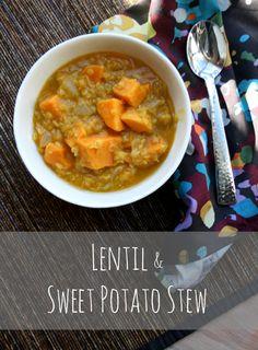 Lentil and Sweet Potato Stew // Via the Full Fork Blog
