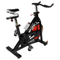Exertec® Fitness Spin Exercise Bike, this is my bike!! But mine is yellow and black!!