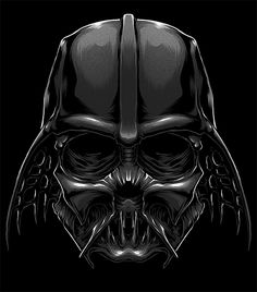 Death Side Series on Behance Vader Star Wars, Star Wars Art, Darth Vader, Sith, Star Wars Painting, Star Wars Tattoo, Star Wars Wallpaper, Geek Squad, The Force Is Strong