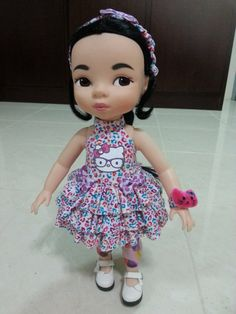 Dress for disney animator's doll 16kitty by MadamAnnedollclothes