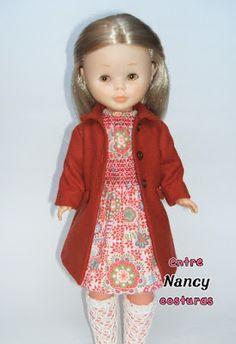 Abrigo y vestido infantil para Nancy Nancy entre costuras: Llega el otoño